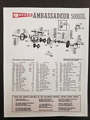 Reel Parts & Repair - Repair Ambassadeur - 9 - Trainers4Me