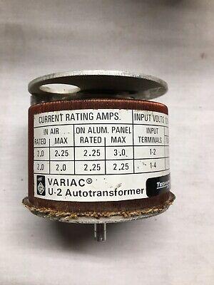 Variac Type U2 Continuously Adjustable Transformer General Radio U-2