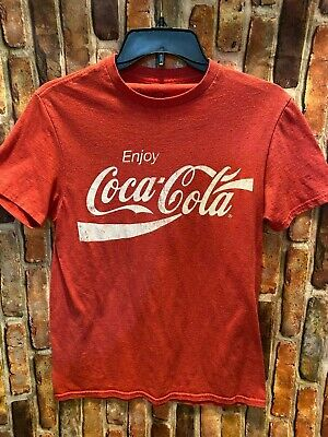 Enjoy Coca Cola Classic Small Red T-Shirt
