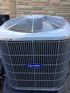 2 Ton Carrier air conditioner.