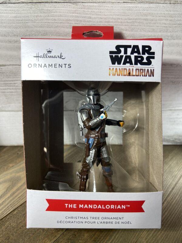 "2021 Hallmark Christmas Ornament Star Wars ""THE MANDALORIAN"""