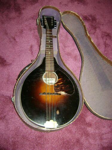 Vintage Kalamazoo 1930s KM-11 Mandolin & Case