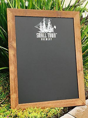 "Small Town Brewery Beer Bar Pub Man Cave Ship Chalkboard  ""New"""