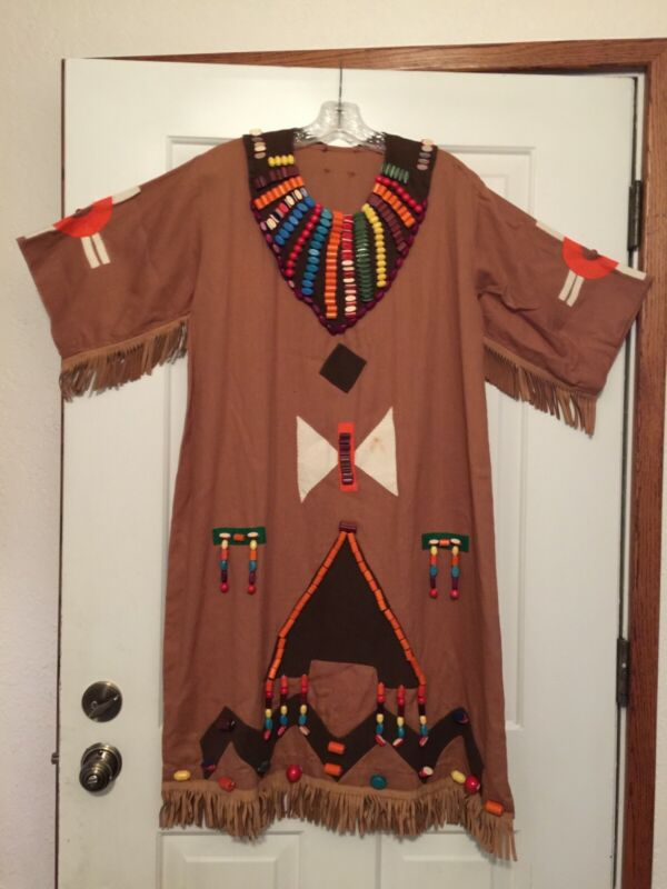 """Vintage Camp Fire Girls Ceremonial Gown from the 60""""s"""