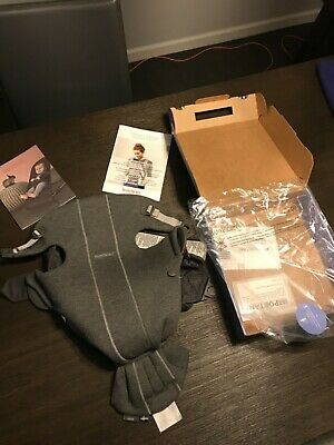 BABYBJORN Baby Carrier Mini In 3D Jersey , Grey Retail $99 0-12 months