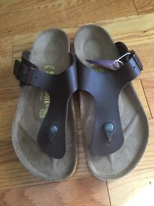 New Birkenstock Womens Thong sandals Gizeh size 40 New