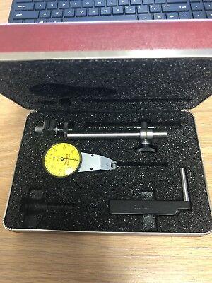 Starrett Metric Swivel Head Test Indicator No.811 0-40-0  .01mm