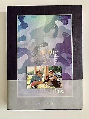 BTS Now3 Dreaming Days Photobook DVD w. JIMIN JUNGKOOK Photo Card Full Set Rare