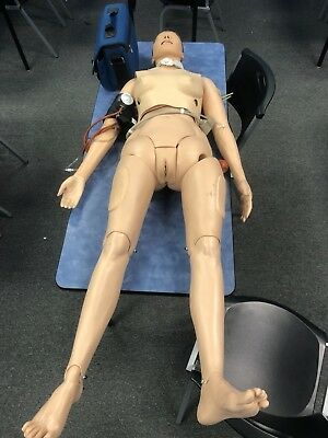 Training Manikin Laerdal Nursing Anne Full Body Training Female Manikin Vitalsim
