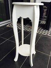 White wooden Stand / Plant Holder / Pedestal Turrella Rockdale Area Preview