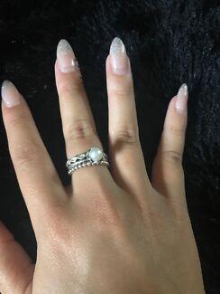 Pandora Ring And Earrings Set With Jewellery Box Women S Jewellery