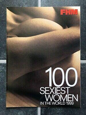 FMH 100 SEXIEST WOMEN Model Photo 1999 LISA SNOWDON EMMA NOBLE MELANIE SYKES