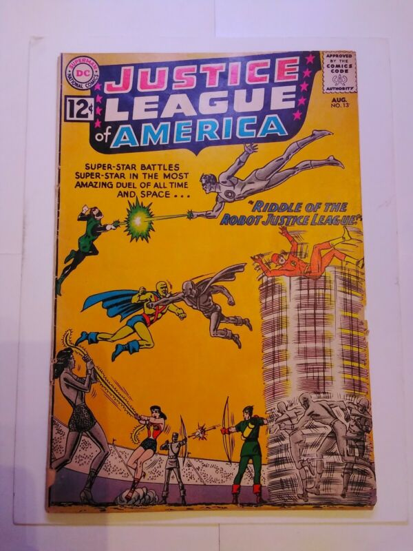 Justice League of America #13 (Aug 1962, DC)