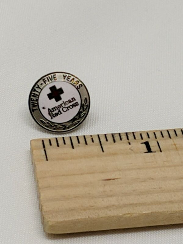 American Red Cross ARC Pin 25 YEARS