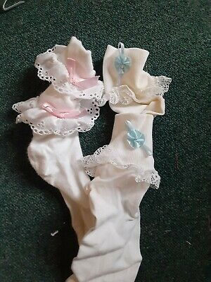 Boutique For Girls (Vtg. Frilly Boutique Socks for)