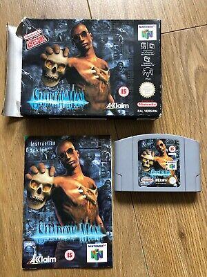 SHADOW MAN NINTENDO N64 BOXED & COMPLETE