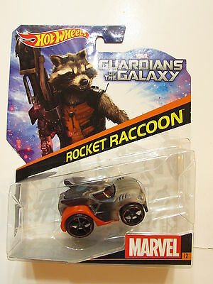 Guardians Of The Galaxy Star Wars (STAR WARS 2014 HOT WHEELS MARVEL ROCKET RACOON GUARDIANS OF THE GALAXY)