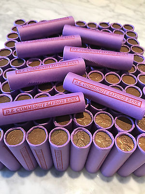Rare Lincoln Wheat Cent Rolls Old Us Pennies Set Us Coins Bank Collection Lot