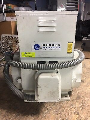 10hp Rotary Phase Converter Machine Ma-2 Kay Industries