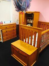 The Ultimate Boori collection- 8 pieces- cot, wardrobe, etc Frenchs Forest Warringah Area Preview