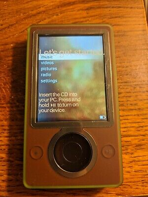 Microsoft Zune 30GB Digital Media Player (Brown) Open Box With Accessories Microsoft Zune Player
