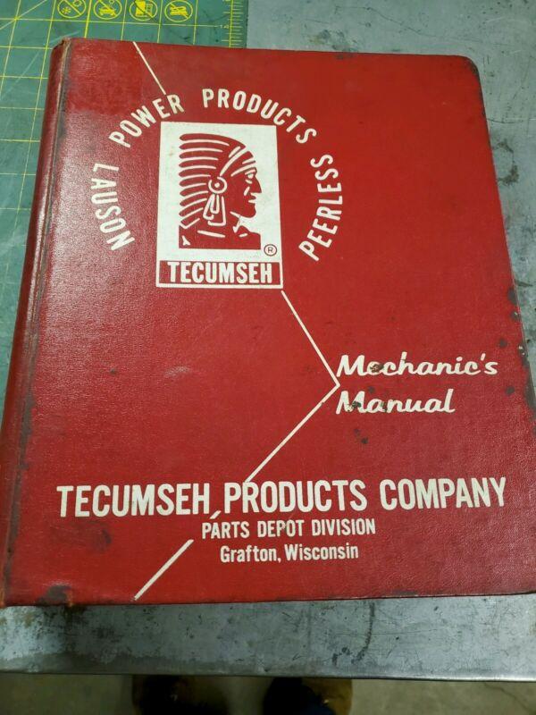 Tecumseh Mechanics Manual