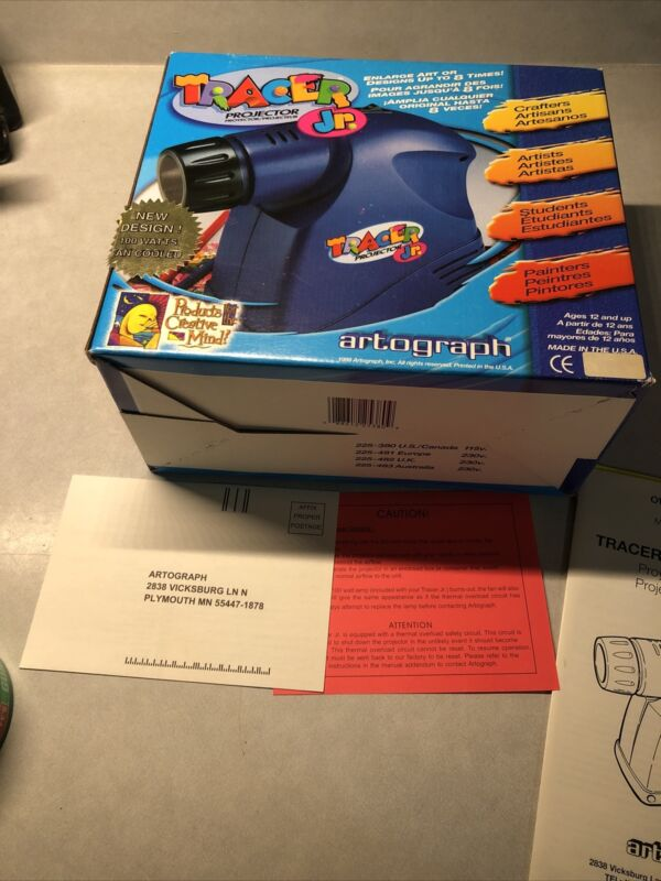 ARTOGRAPH Tracer Projector Model 225-380, Tested, Bulb Works