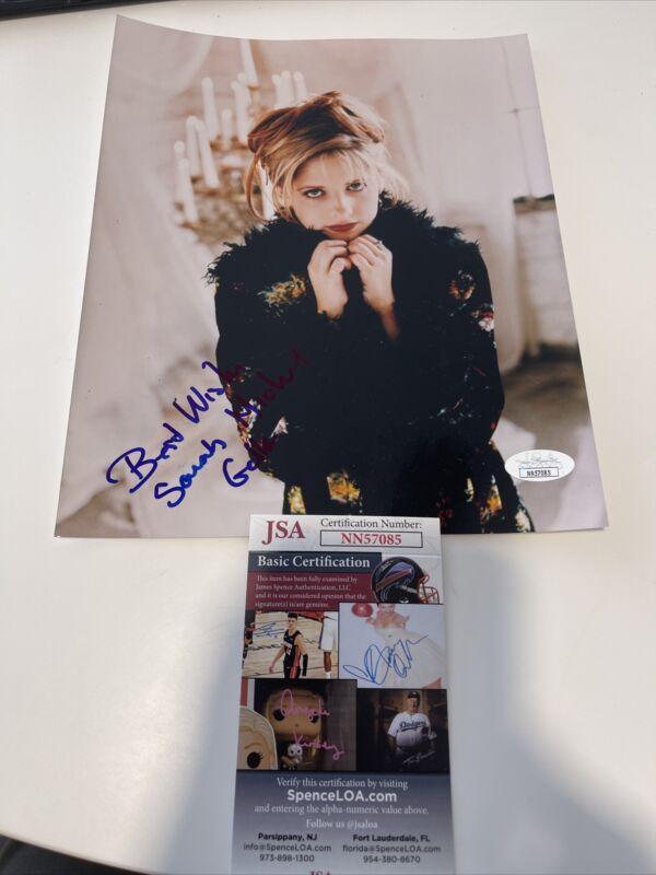 Autographed Sarah Michelle Geller Signed 8x10 Photo Jsa Coa