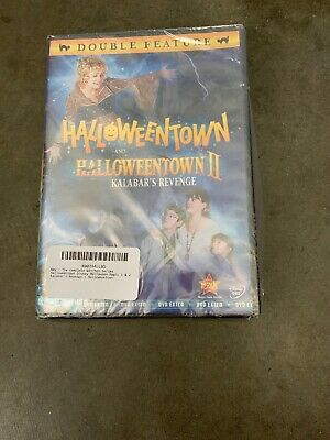 Halloween Town Movie Set (Halloweentown DVD Lot Complete 1-4 Kalabar's Revenge High Return to Movies Set)