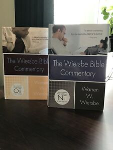 The Wiersbe Bible Commentary OT&NT 2 Volume Set