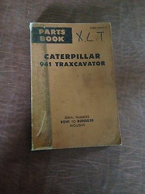 Cat Caterpillar 977 Traxcavator Loader Bulldozer Parts Book Manual Sn 53a 43d