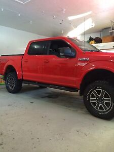 """2015 Ford F-150 lifted 6"""" suspension 35"""" tires head turner"""