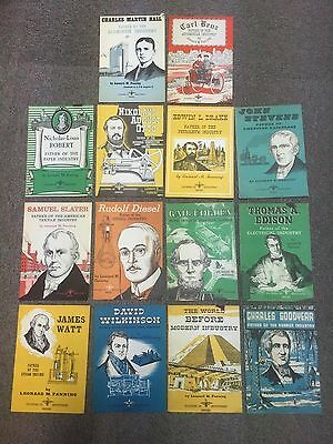 "Lot of 14 ""Fathers of Industries"" Pamphlets"