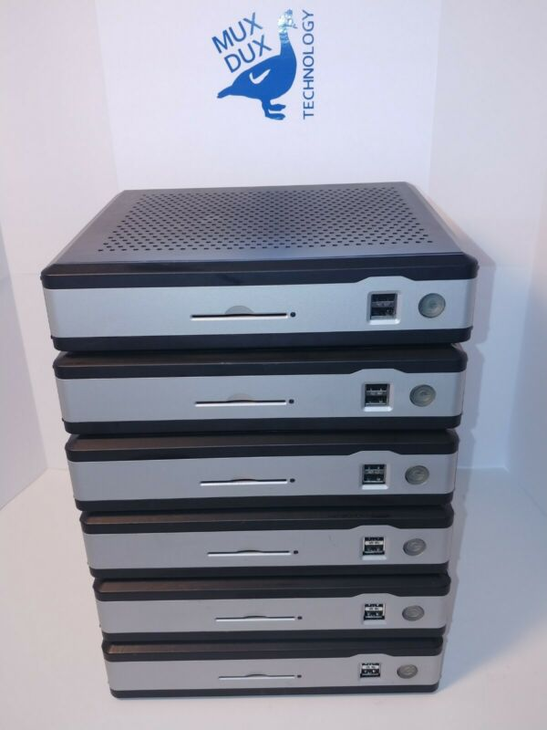Lot of (6) Termtek TK-3880 LX - Thin Client Computers