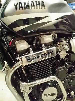 YAMAHA XJR 1300 ALL YEARS MIRROR POLISHED STAINLESS STEEL ENGINE CYL HEAD COVERS