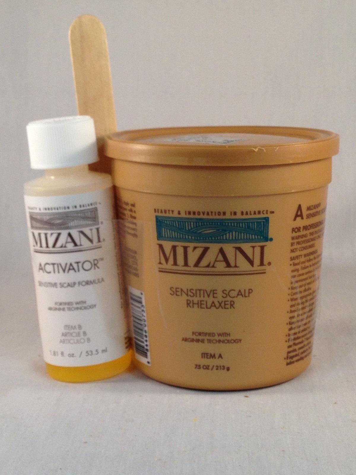 Mizani Sensitive Scalp Relaxer Single Application Kit Hair Care & Styling