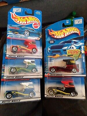 Vintage HOT WHEELS SEMI FAST First Editions Lot of 5 all different FREE SHIPPING