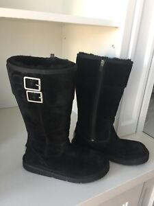 UGG Australia Black limited edition Boots Size 6