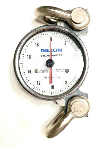 Dillon Dynamometer 20,000lbs