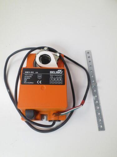 NEW, BELIMO, NMV-D2 US, Damper actuator 24 Vdac Motor 8Nm 70in-lb