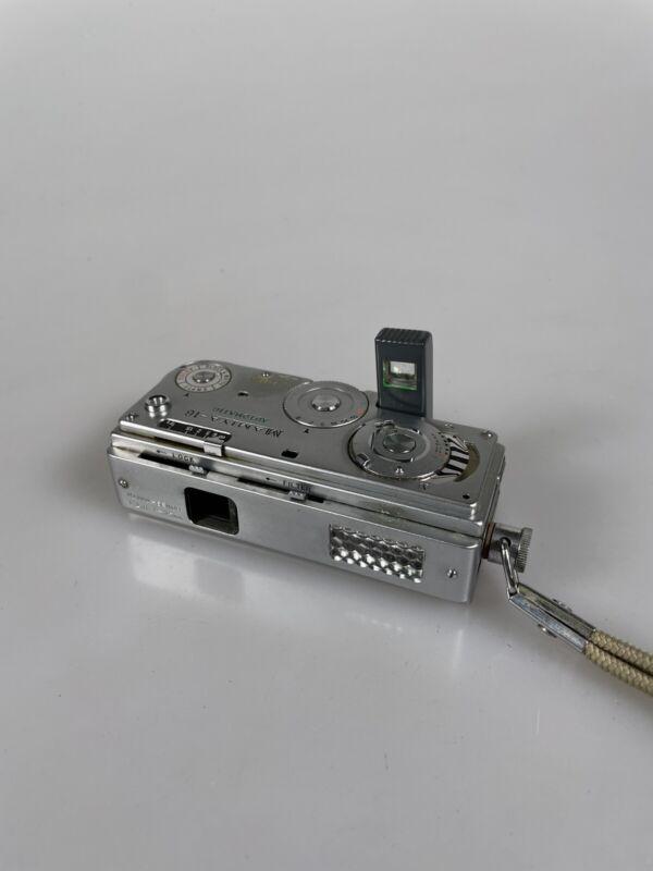 Vintage Mamiya 16 Automatic Subminiature Film Spy Camera