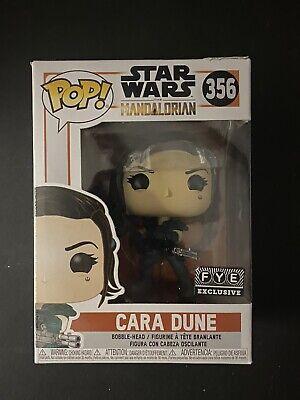 Cara Dune #356 Funko Pop Star Wars The Mandalorian FYE Exclusive Not Mint