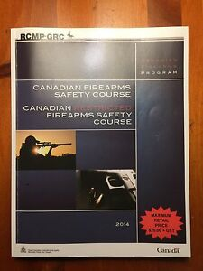 Possession and Acquisition Firearms Course Books Kingston Kingston Area image 1