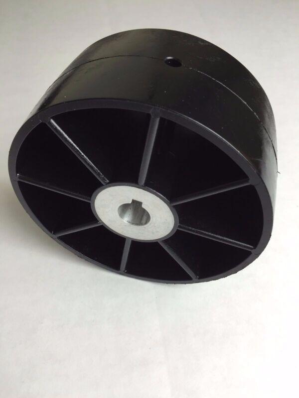 """Belt Grinder Drive Wheel for 2x72"""" knife making grinder 5/8"""" bore"""