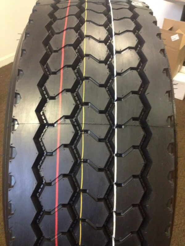 (6-tires) 385/65r22.5 20 Ply Road Warrior Truck Radial Drive 38565225  #397