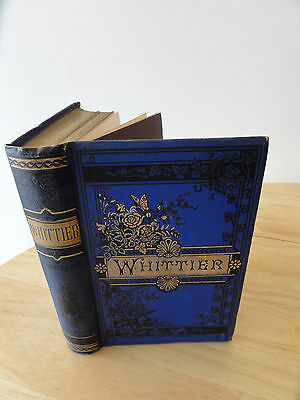 1886   The Early Poems Of John Greenleaf Whittier  Houghton  Mifflin And Company