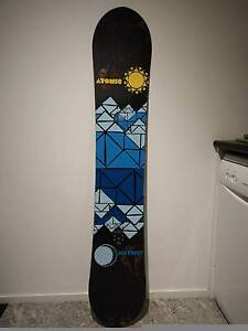 Atomic Alibi Renu Snowboard 156cm, used only 4 days, mint cond. Windsor Stonnington Area Preview
