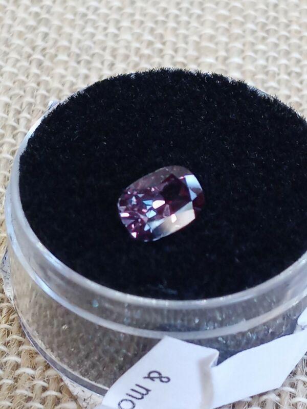 1.20cts Teal Pink Sapphire FineAAA Cushion Cut 7x5mm #w08