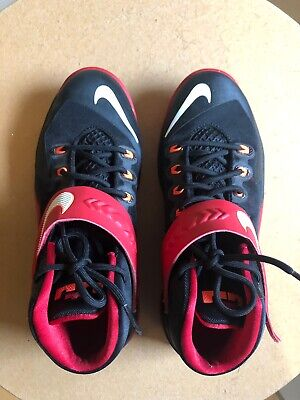2014 Nike Zoom Lebron Soldier VIII 8 Basketball Shoes 653645 006 Boy's Size 7Y