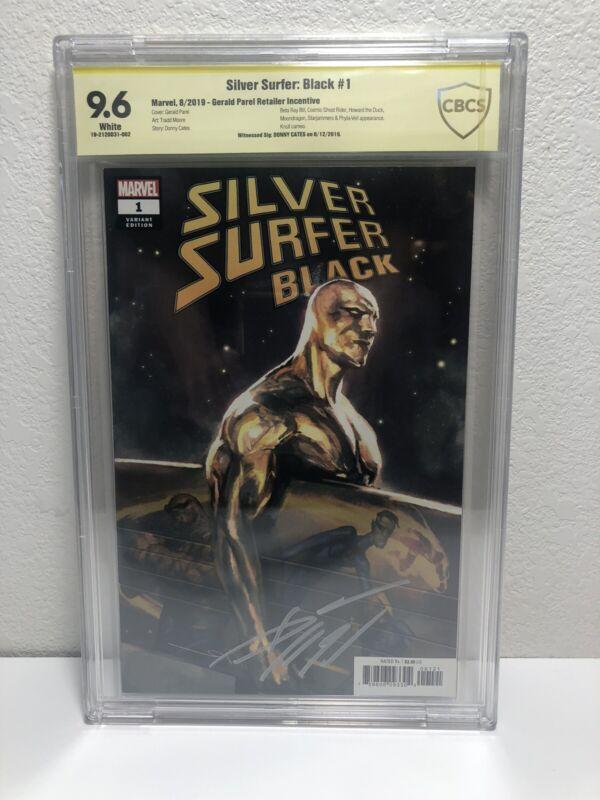 Silver Surfer Black 1 1:25 CBCS 9.6 Donny Cates Sig.